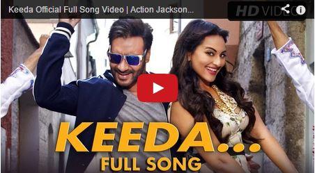Action Jackson – Keeda song is trending online