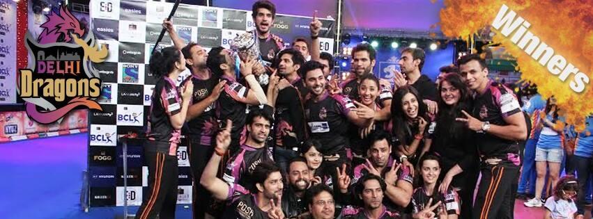 Winners of Box Cricket League  - BCL