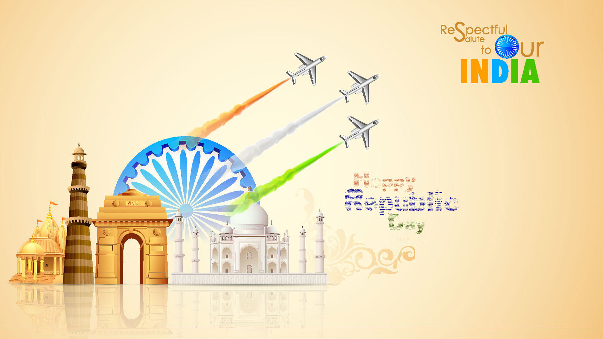 Happy Republic Day 2018 Greetings Speeches Images Wallpapers