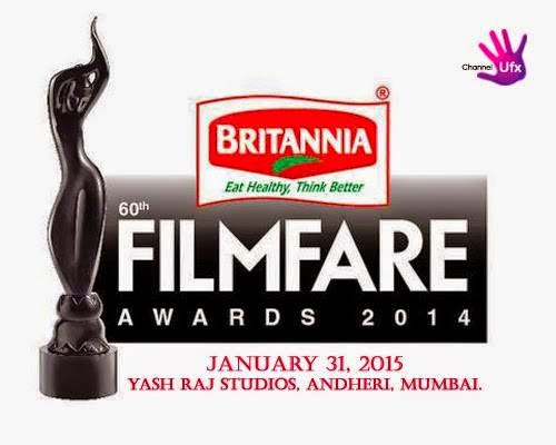60th Filmfare Awards 2015 winners, telecast, time, date and venue