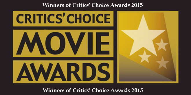 Winners of Critics Choice Awards 2015
