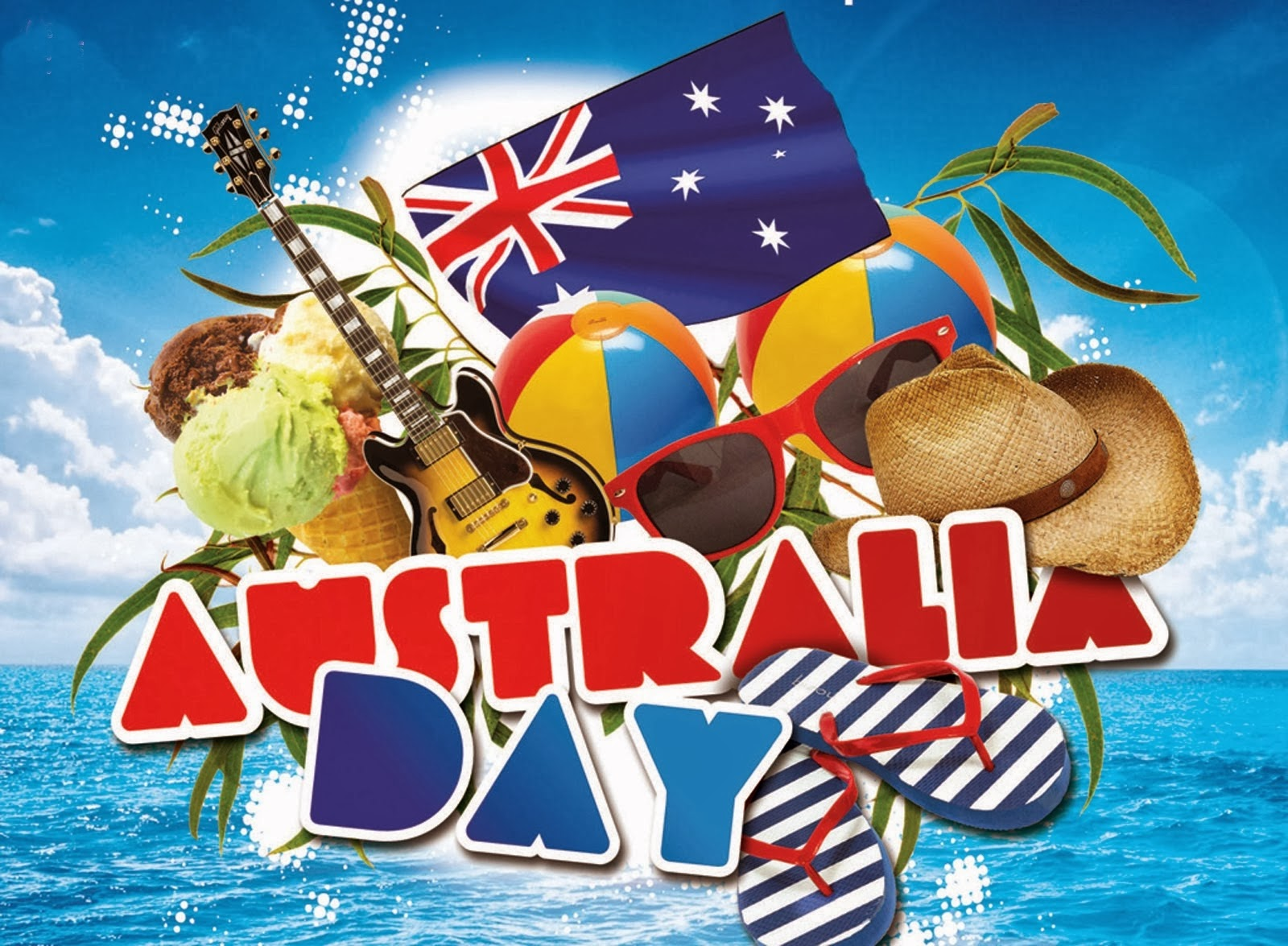 Happy Australia Day 2015 Wishes Greetings Wallpapers Images Sms
