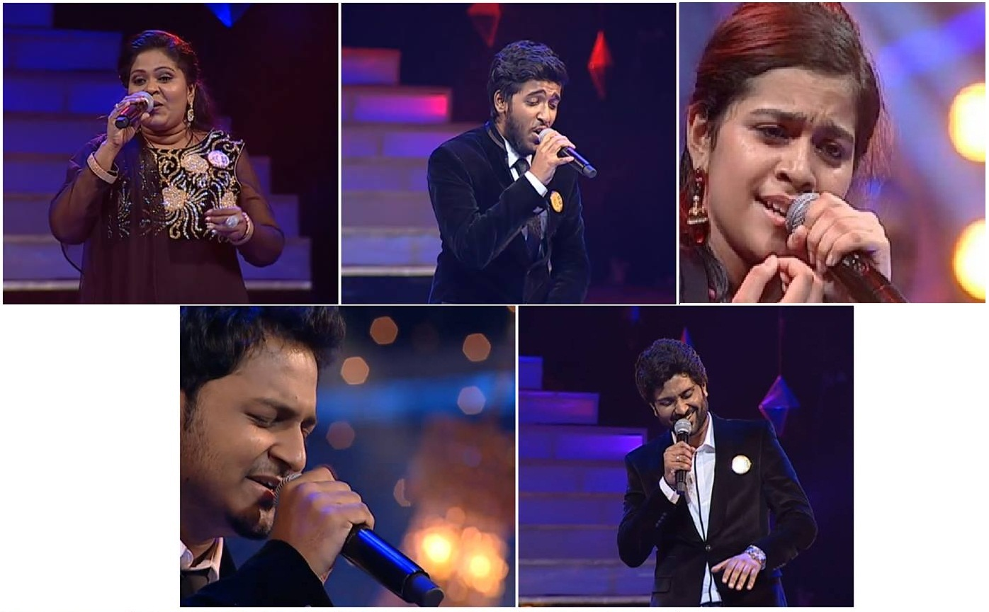 Winners of Super Singer 5 Grand finale on Vijay TV