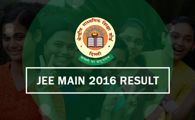 Check JEE Main 2016 Results on 27th April 2016