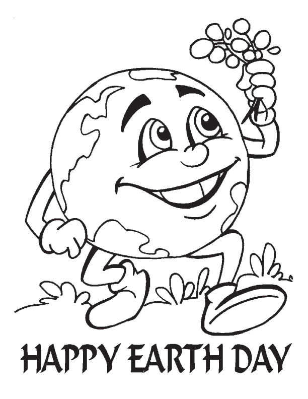 Earth Day 2015 Coloring Pages
