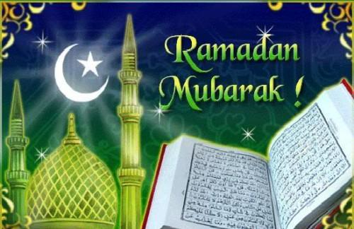 Ramadan Mubarak to all