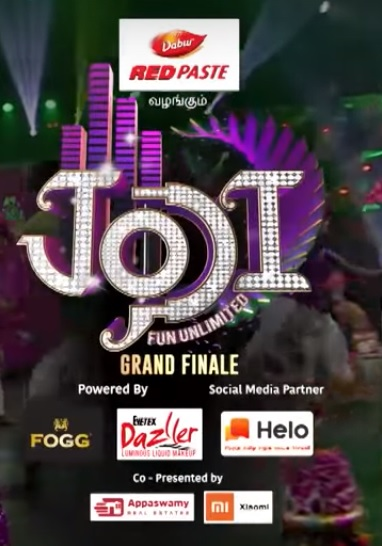 Winners of Jodi Fun Unlimited Grand Finale on Star Vijay TV