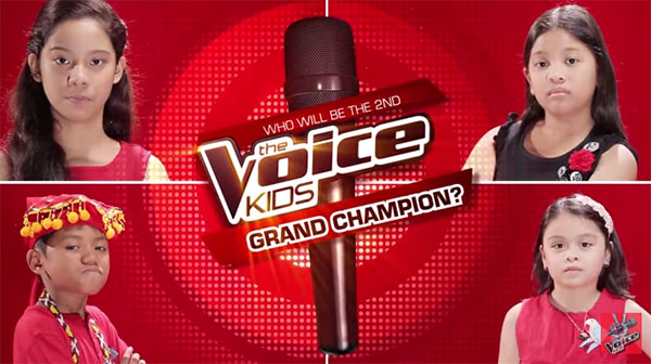 The Voice Kids Philippines season 2 winners