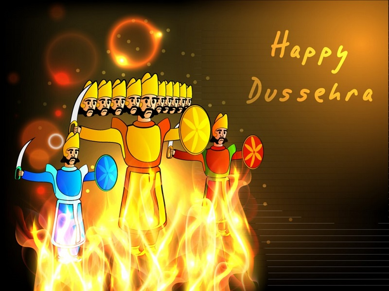 Happy Dasara 2015 Whatsapp status DP, wishes, SMS and images