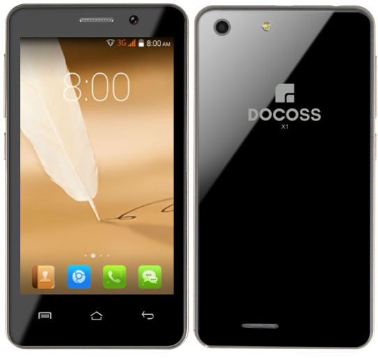 Docoss X1 mobile phone booking, specifications, price and more details