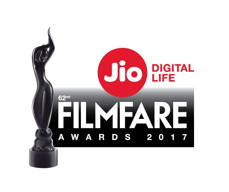 Nominations for 62nd Jio Filmfare Awards 2017