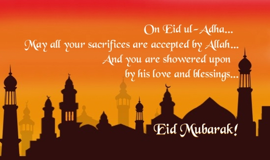 Eid al adha 2018 wishes messages sms images quotes and greetings happy eid al adha wishes m4hsunfo