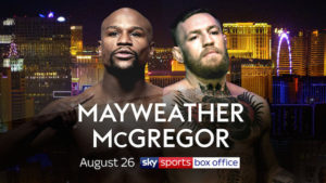 Floyd Mayweather vs Conor McGregor Fight Schedule