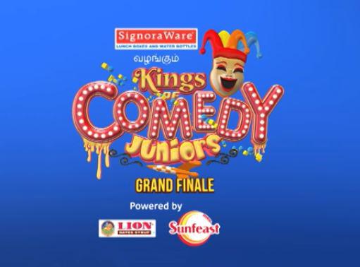 Winners of Star Vijay TV Kings Of Comedy Juniors Grand Finale