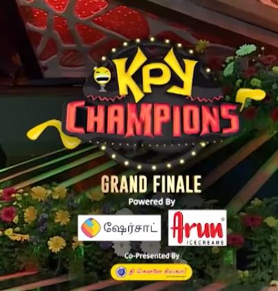 Winner of Kalakkapovadhu Yaaru Champions Grand Finale