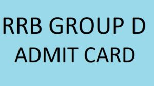 RRB Group D Admit Card Released on the Official Website 'indianrailways.gov.in'