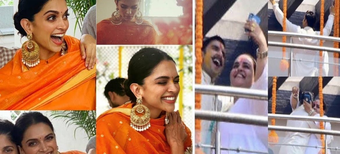Deepika Padukone And Ranveer Singh Wedding Photos, Images and Updates