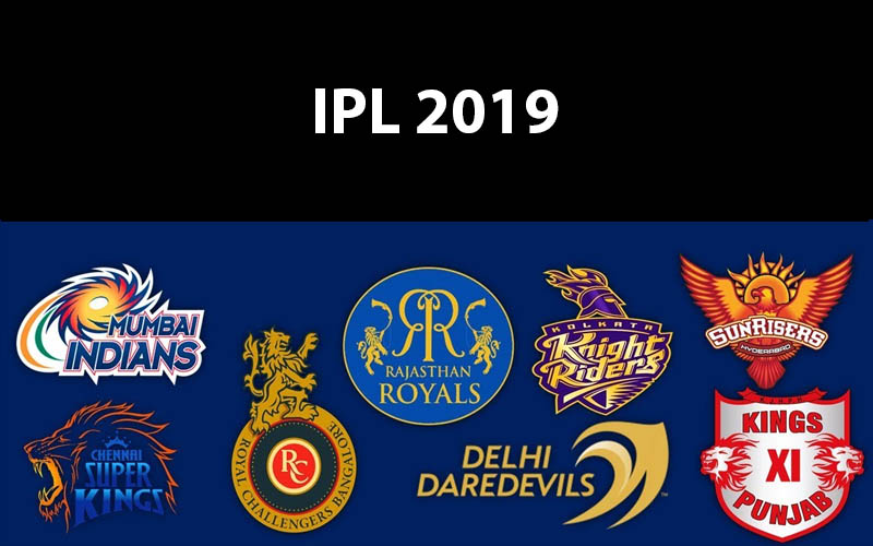 IPL 2019 Points Table, Schedule, and Teams